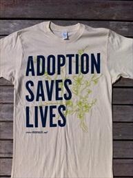 Adoption Saves Live Shirt small