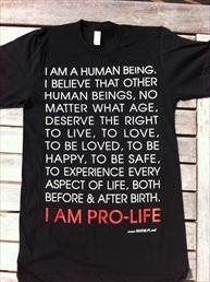 Human Being Shirt Black small